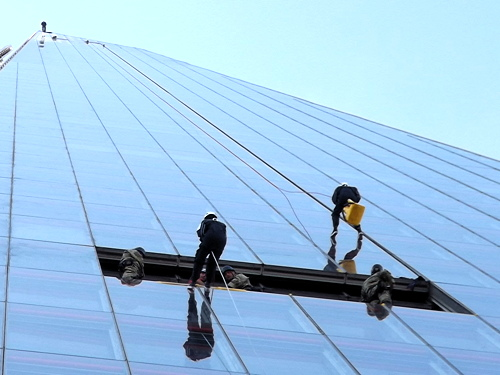 Cash raised by Shard abseil to benefit Southwark teenagers