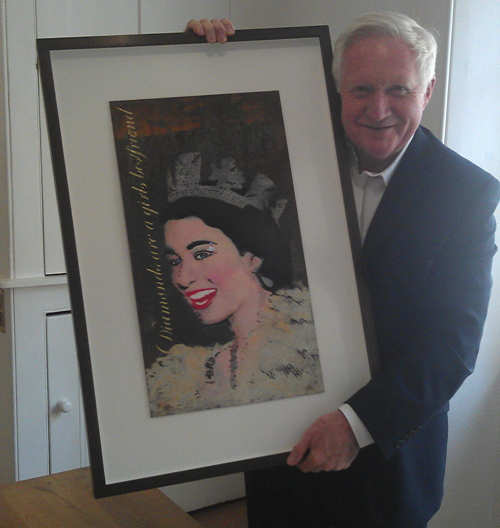 David Dimbleby charity art auction to support cancer care in SE1