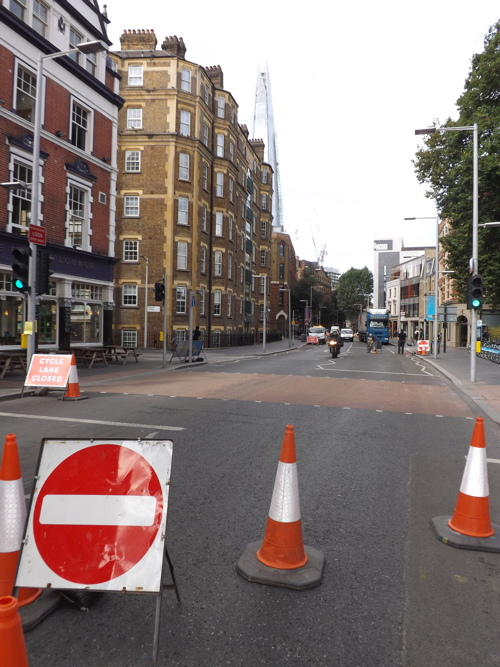 Tooley Street and St Thomas Street: roadworks return now the games are over