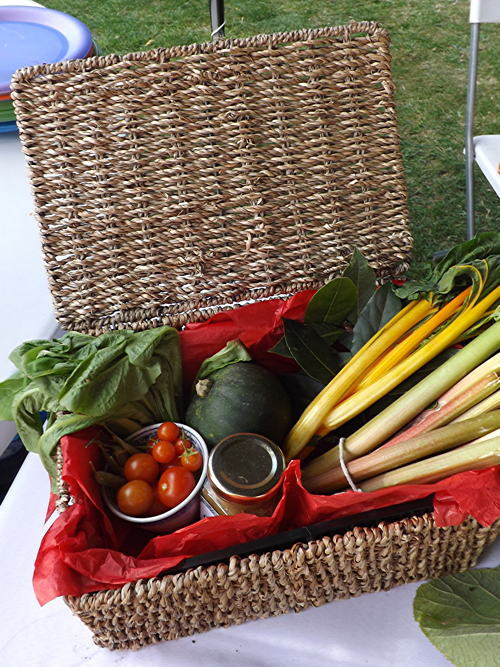 Octavia Hill Centenary Flower and Vegetable Show at Red Cross Garden
