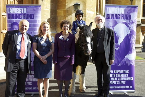 Lambeth Giving Fund launched at Lambeth Palace reception