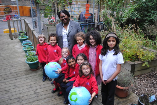International School Award for Charles Dickens Primary School