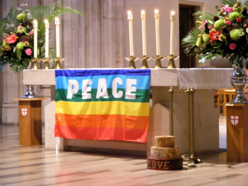 Prayers for peace legacy from Olympic games at St George's Cathedral