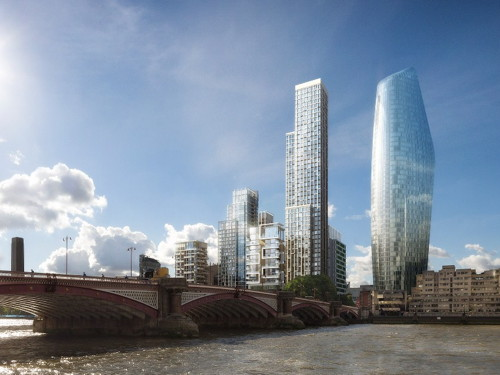 48-storey tower proposed for Ludgate House site at Blackfriars
