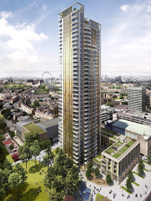 Councillors approve new Elephant leisure centre and 37-storey tower