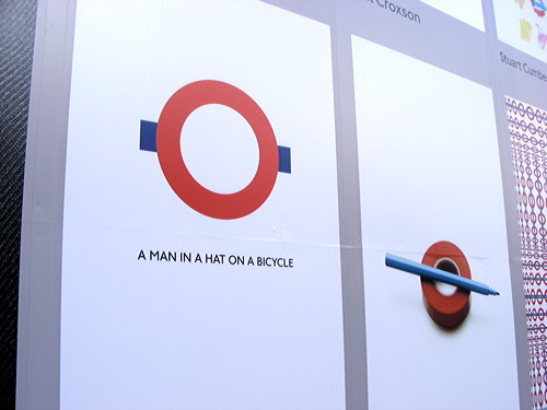 Artists' playful reinventions of the London Underground roundel
