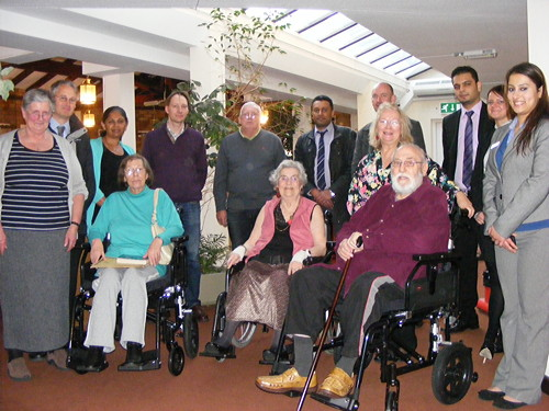 Wheelchair loan service helps Bankside OAPs go further