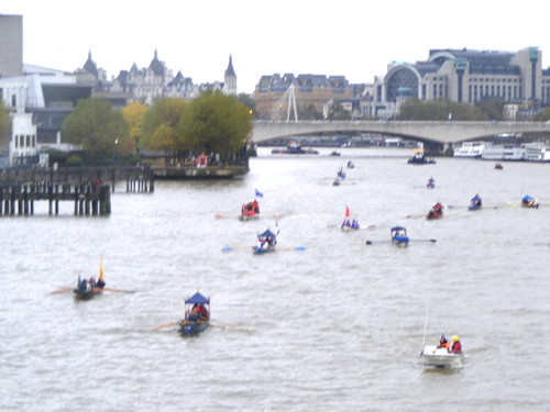 Lord Mayor's Show begins with Thames flotilla