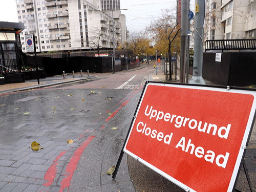 Eastern end of Upper Ground to close for 10 months