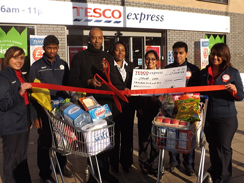 Tesco Express opens in New Kent Road