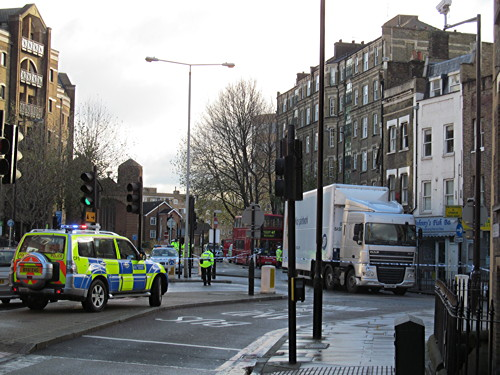 Cyclist seriously injured in collision at Tanner Street junction