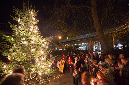 Southwark's new carol premiered at Christmas tree lighting
