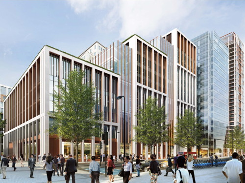 Shell Centre redevelopment: new offices, shops and 800 homes