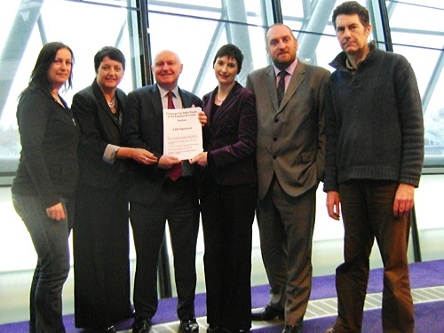 Elephant safer roads petition presented to London Assembly members
