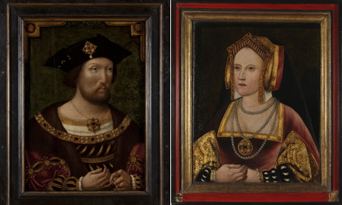Catherine of Aragon portrait found at Lambeth Palace goes on show