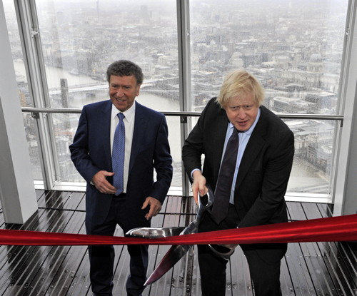 Irvine Sellar and Boris Johnson