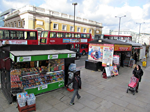 London Road kiosk: planning inspector holds public hearing