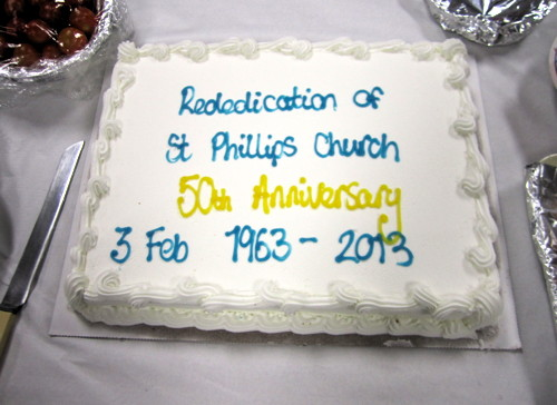 St Philip's Church in Avondale Square celebrates 50th anniversary