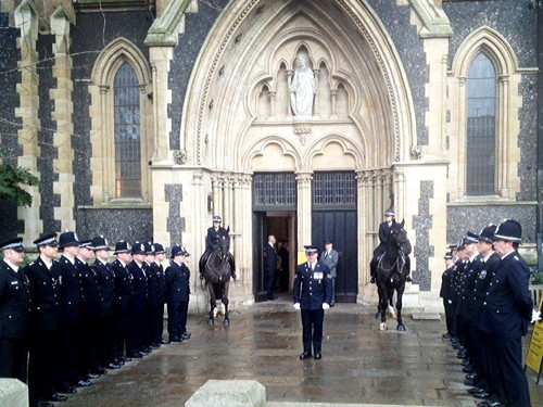 Paul McKeever memorial service at Southwark Cathedral