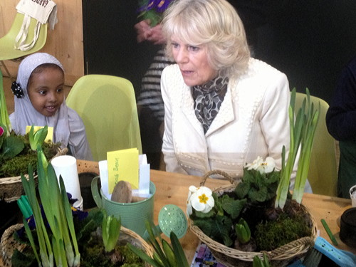 Duchess of Cornwall visits Garden Museum