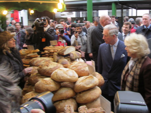 Charles and Camilla visit Borough Market: pictures and video