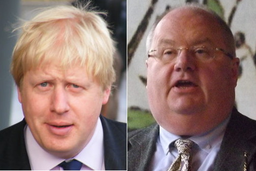 Boris Johnson and Eric Pickles]