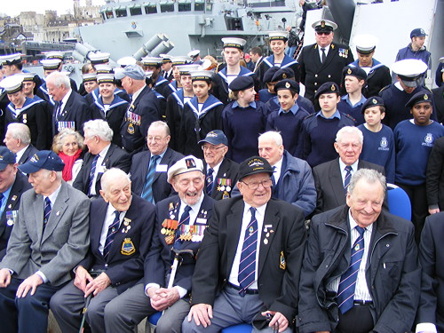 HMS Belfast celebrates 75th anniversary