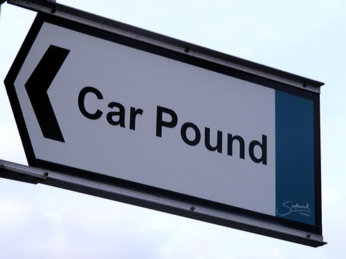 From Easter Sunday the car pound will be no more