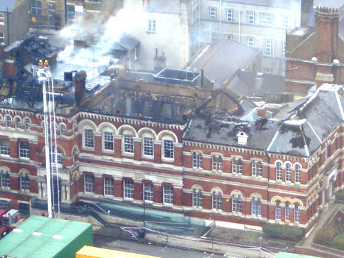 Walworth town hall fire: council takes stock and looks to future