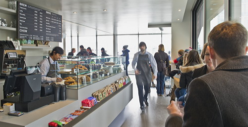 HMS Belfast opens new cafe-bar