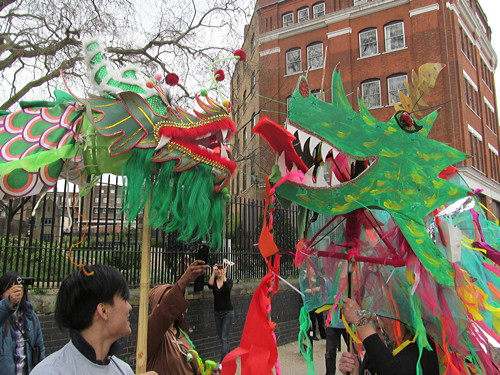Dragon Cafe celebrates St George with East meets West parade
