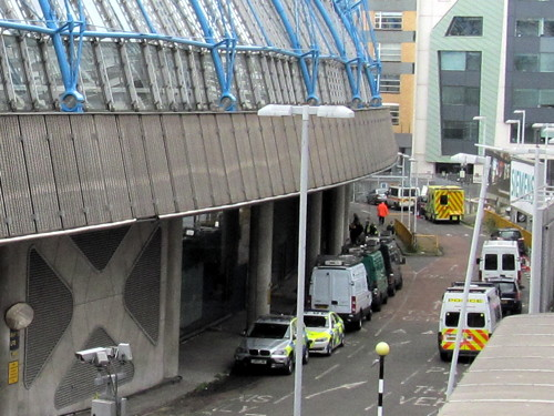 Emergency services hold counter-terrorism exercise at Waterloo