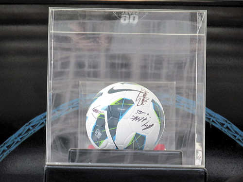 FA Cup Final match ball visits South Bank