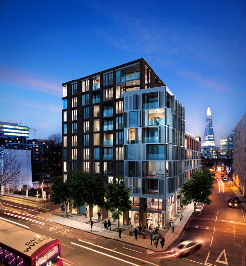 New images of controversial Blackfriars Road development