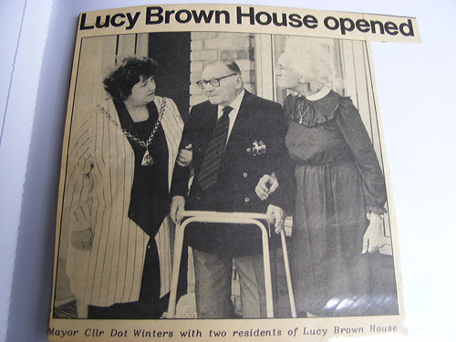 Lucy Brown House: residents celebrate 25 years of sheltered housing