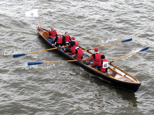 Thames cutter crews compete in Admiral of the Port's Challenge
