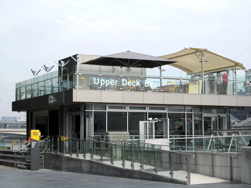 Upper Deck riverside bar opens at HMS Belfast