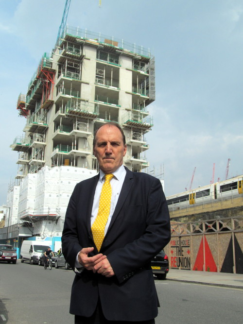 Simon Hughes in Union Street