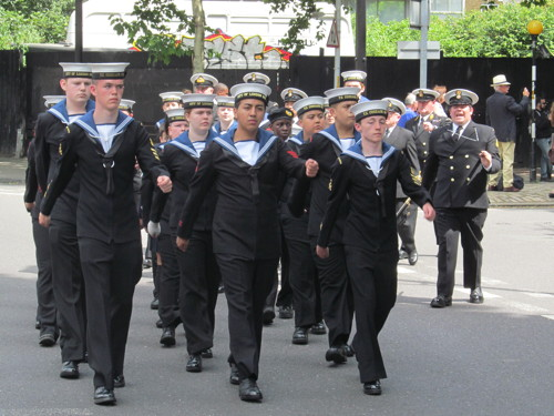 Southwark marks Armed Forces Day with parade and ceremony