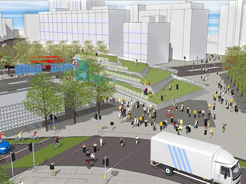 Elephant & Castle: new images show transformation of roundabout