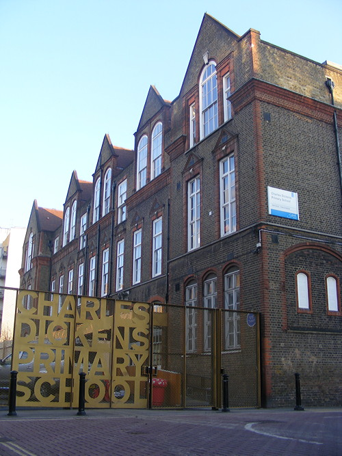 Charles Dickens wins approval for prefab classrooms in playground