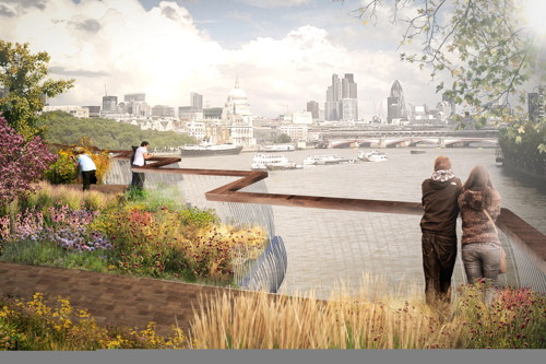 Heatherwick's Garden Bridge could cost up to £100 million
