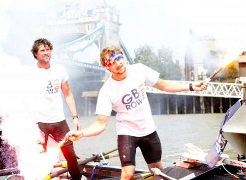Second world record broken in round-Britain rowing race