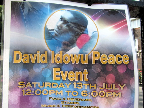Peace Day in Tabard Gardens five years on from David Idowu murder
