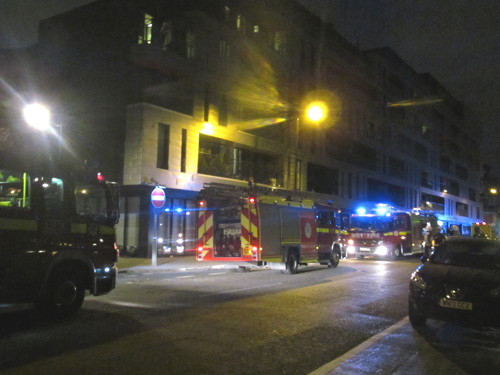 Fire at MyBaSE1 flats in Southwark Bridge Road