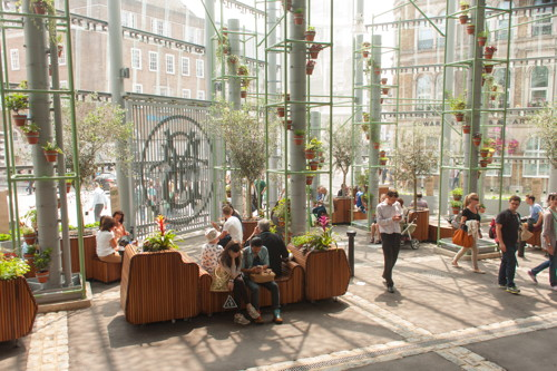 Borough Market's new indoor garden is now open