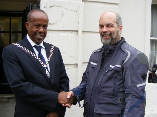 'Thankful Villages' bikers welcomed to Southwark