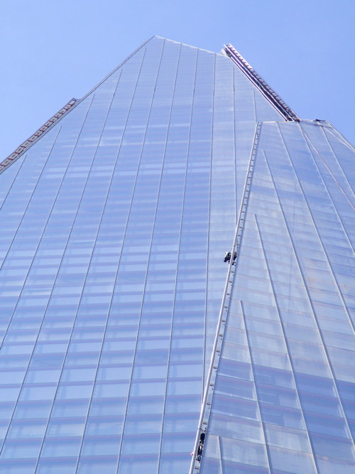 Five Greenpeace Shard climbers cautioned for aggravated trespass