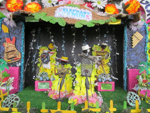 Latin American flower festival comes to Elephant & Castle