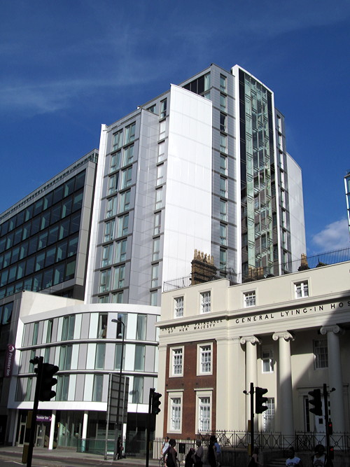 Waterloo 'travesty' hotel shortlisted for Carbuncle Cup